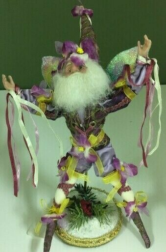 Mark Roberts Pansy Fairy - Small Retired
