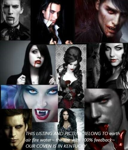 10 VAMPIRES FROM DIFFERENT COUNTIES WAITING 2 CONNECT WITH U ~PLUS BEAD~ TANGILE