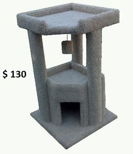 Cat Scratching Post And Cat Condos For Sale - Custom Built