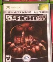 Def jam Fight for New York Comme neuf xbox