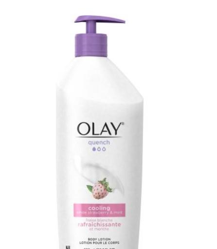 Olay Body Lotion, Silky Berry, 11.8 Fluid Ounce