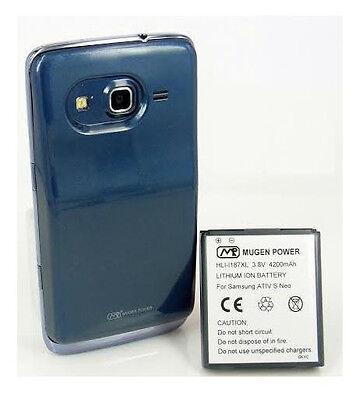 Mugen Power 4200mAh Extended Battery Samsung ATIV S Neo Sprint i800 AT&T i187
