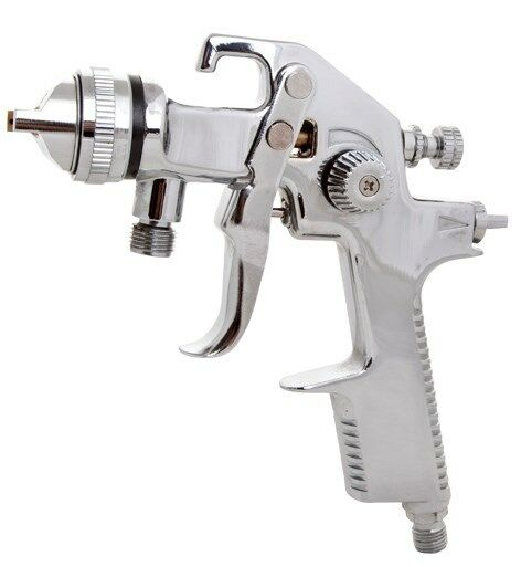 Pressure Pot (Spihon Feed) HVLP Spray Gun & Hose Kit