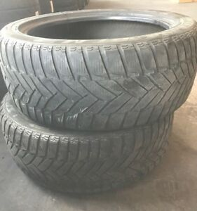 245/45r19, 102V, Winter tires (Set 2) USED, Dunlop SP Sport M3
