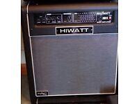 Hiwatt Bass Amp.