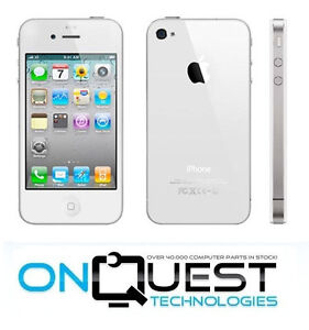 Apple iPhone 4S 16GB White Verizon Smartphone A1387 Ready for Activation