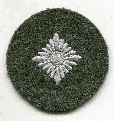 WWII German Army M40 M43 wool PIP RANK PATCH oberschutze sr private insignia