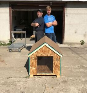 New Fully Insulated Dog Houses starting at $100!