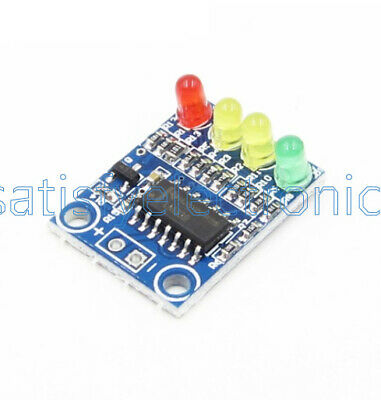 5pcs 12v Electric Quantity 4power Indicator Battery Detection Module For Arduino