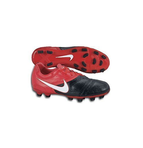 Nike CTR 360 FG Libretto 2009 Soccer Shoes US 6.5 Red / Black Brand New