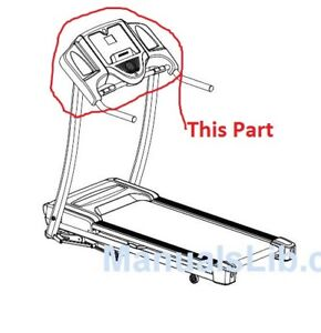 parts to fix a horizon ct81 treadmill