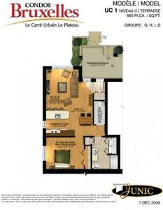 Condo junic apartments condos for sale or rent in for 1 chambre a louer gatineau