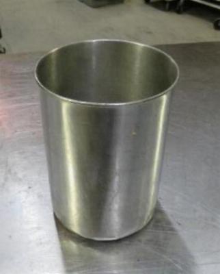 Stainless Steel Pot 1.75 Qt Crock Insert Steam Table Quart Pan Salad Bar