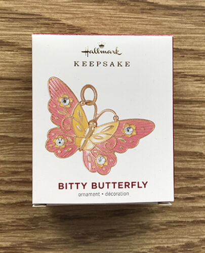 2021 Bitty Butterfly ~ Christmas and Spring Tree ~ Hallmark Miniature Ornament