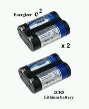 Energizer 2CR5 lithium batteries [two packs] 6V *New & Sealed* Sydney City Inner Sydney Preview