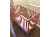 Kinder Valley Space Saver Cot/Crib