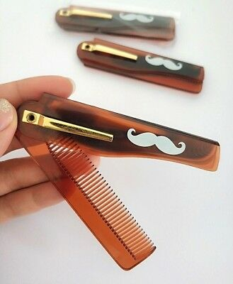 Plasctic Folding Combs For Men Beard Care High Quality Grooming Style Wholesale