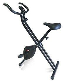 XS Sports Foldable Folding Exercise Bike Cardio Fitness Workout Machine