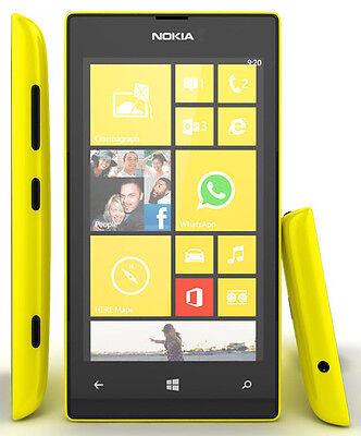 Nokia Lumia 520,8GB,YELLOW,Unlocked Quadband CAMERA,WIFI,BLUETOOTH.WINDOWS PHONE
