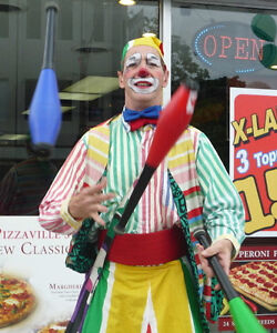 """""""FLOATING"""" CLOWN Stilts Juggler - Shopping Mall Community Events Peterborough Peterborough Area image 6"""