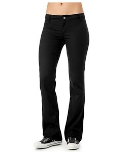 NEW DICKIES GIRLS N882 THE WORKER TWO BACK WELT POCKET PANT BLACK, KHAKI, NAVY