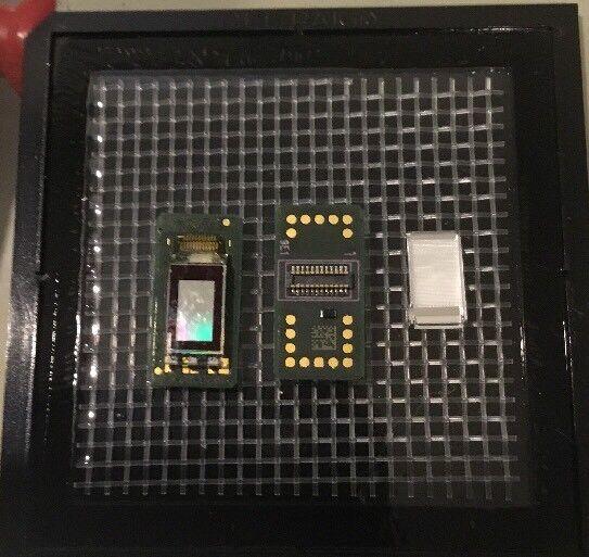 2 Google Glass Display Assembly Rare 9E1 Chip  436 1 LCD W  GGLASS383