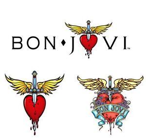 STICKER-Bon-Jovi-Large-200mm-Choose-one-CD-DVD-Poster-Music-Band-Rock