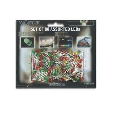 Led Assortment Red Green Yellow Velleman Kled1