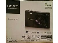 Sony Cyber Shot DSC-WX300 & 32gb memory card]