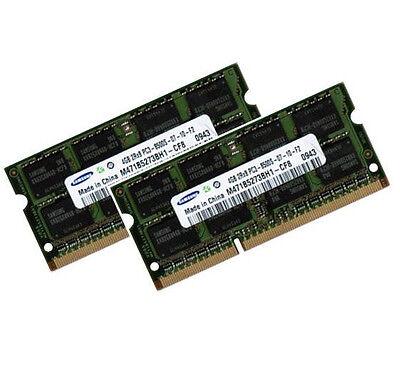 2x 4GB 8GB DDR3 RAM Speicher 1066 / 1067 Mhz für Apple PC3-8500S Samsung 0x80ce