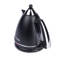 De'Longhi Argento Pyramid Kettle - Black- used but good condition