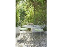 Jasmin 2 Seater Metal Bistro Set with Cushions