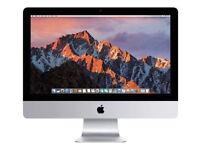 apple imac 21in quad I5. 8gb 1tb 5400RPM intel pro 6200