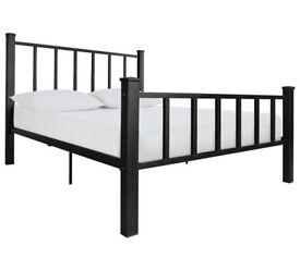 Gabe Black Bed Frame - Kingsize