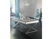 Heart of House Piazzo Mirrored Top Coffee Table