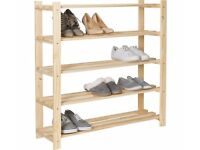Shoe rack - pine