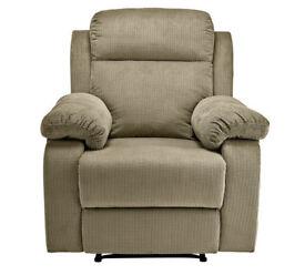 New Bradley Manual Recliner Chair - Mink