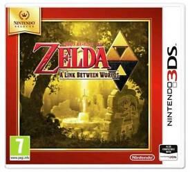 Zelda 3ds link between worlds