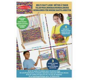 Neuf! Melissa & Doug métier à tisser/Multi Craft Loom