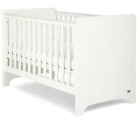 Mamas & Papas Rocco White Cot Bed