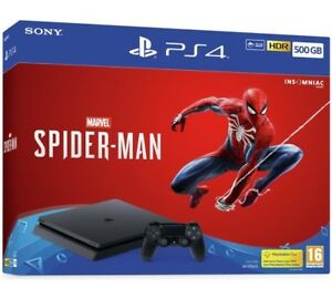 1tb ps4 with Spider-Man