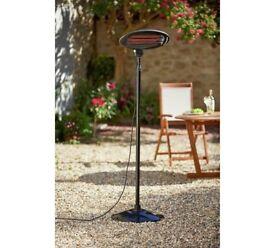 Patio heaters for garden parties and outdoor events. Electric heaters for events for £20 for weekend