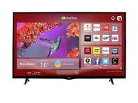Hitachi 49 inch smart TV like new