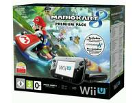 Nintendo Wii U 32Gb HD box with games and accessories