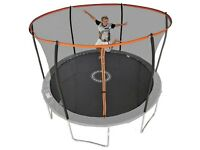 Sportspower 12ft Trampoline with Folding Enclosure 1009.