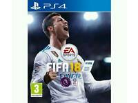 Fifa 18 New and Sealed