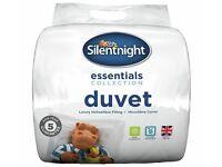 silent night duvet and pillows
