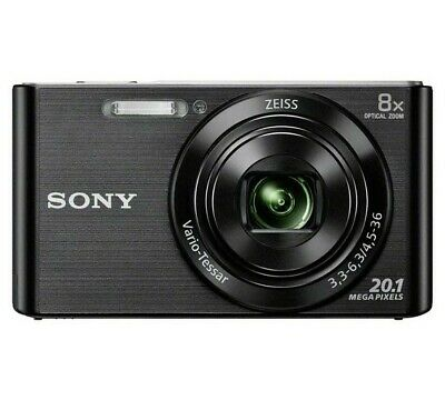 Sony Cybershot W830 20MP 8x Zoom Compact Digital Camera USED
