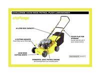 Challenge Petrol Lawnmower BRAND NEW IN BOX RRP £139.99
