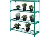 4 Shelf Tubular Greenhouse Shelving